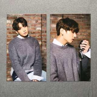 BTS x Mediheal Jungkook Photo Card