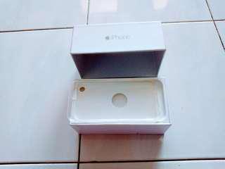 iPHONE 6 EMPTY BOX.