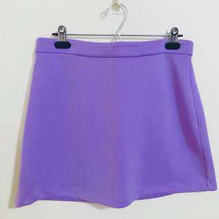 Forever 21 Purple Skirt