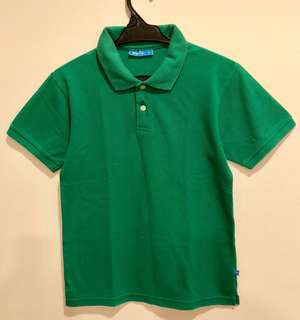 BNY Kids Green Shirt with Collar