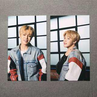 BTS x Mediheal Jimin Photo Card