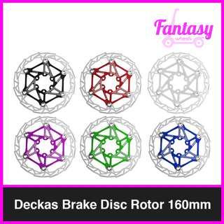 Deckas Brake Disc Rotor 160mm