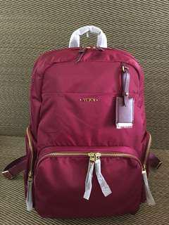 Tumi Maroon nylon Backpack