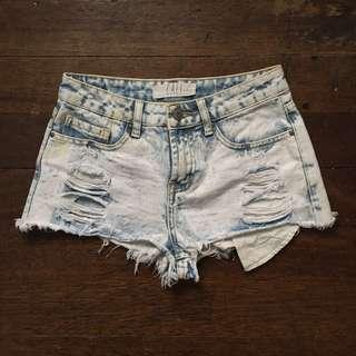 Cali High Waist Shorts