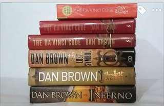 DAN BROWN Books *First Editions*