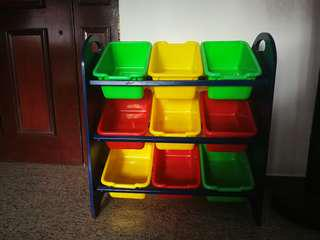 Toys compartments