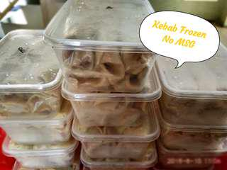 NomNom Kebab Frozen & Roti Maryam/canai