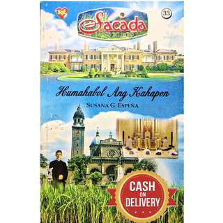 ✅ Tagalog Romance Pocketbook Sacada Series 33-34  #CASHONDELIVERY