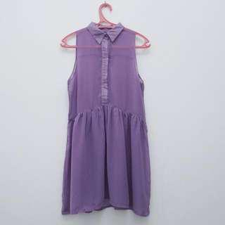 Midi Dress Ungu