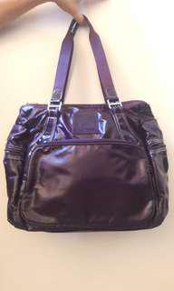 🔺免運 全新紫色手提包(原價600)大容量外出旅行超方便