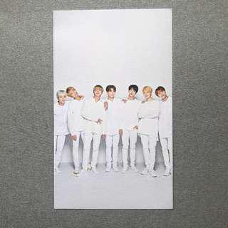 BTS x Mediheal Group Photo Card #2