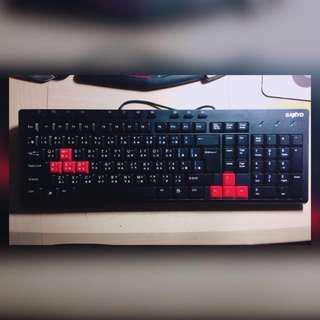 🚚 USB電腦鍵盤(有PC可私)