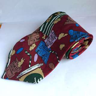 Dasi Merah Motif