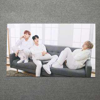 BTS x Mediheal J-Hope Jin V Photo Card #3