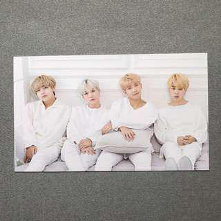BTS x Mediheal V Suga RM Jimin Photo Card #1