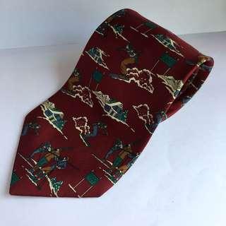 Dasi Ski Merah