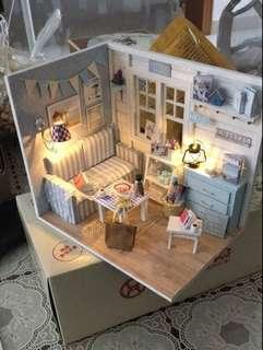 小客廳 DIY小屋 場景 模型