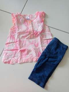 Carters Girl Set