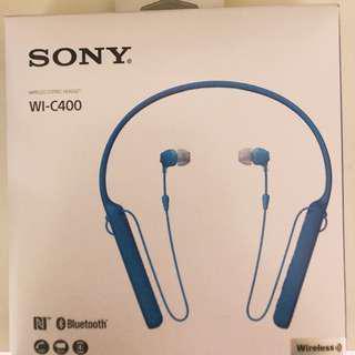 sony wi-c400 earphones