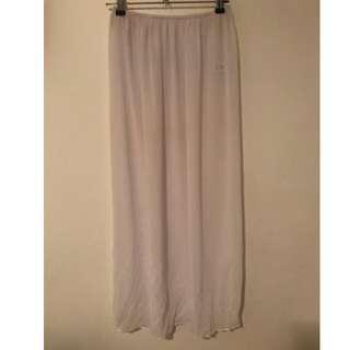 Her Pony White Skirt