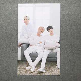 BTS x Mediheal Suga RM Jin Photo Card