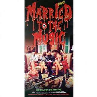 SHINEE - MARRIED TO THE MUSIC OFFICIAL POSTER
