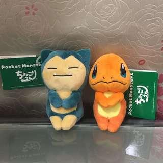 全新日本直送卡比獸小火龍公仔🎉現貨