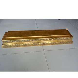 Gold Corbel Item no:C20-A13;Size:L74cmx13.8cmx10cm x1.8Kgs