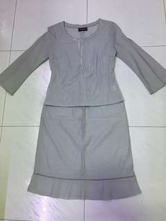 2 pc dress(S) incl normal mail (available in grey or purple)