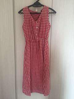 Gingham dress #August75