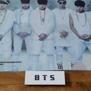 BTS Nameplate