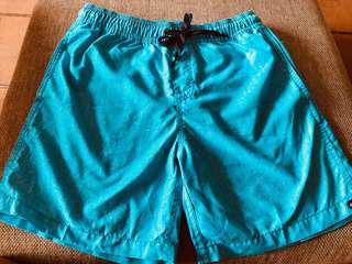 Very comfy and good quality QuikSilver shorts in a nice blue only lightly worn twice and outgrown