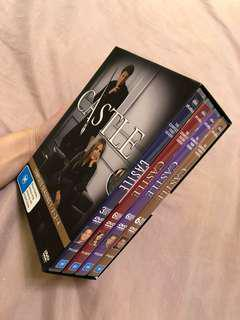 Castle Complete Seasons 1-4 DVD Box Set