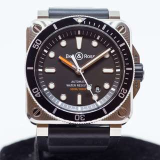 Preowned Bell   Ross Diver Black Dial BR03-92 078fd823aa4