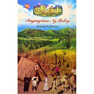 ✅ Tagalog Romance Pocketbook Sacada Series 39-40  #CASHONDELIVERY