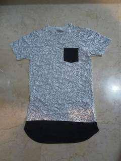 Pull And Bear T-Shirt Layering Kaos White