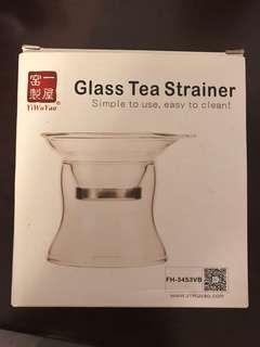 全新玻璃茶隔 茗茶過濾 一屋窰製