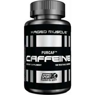 Kaged Muscle PurCaf Caffeine 100 veggie caps