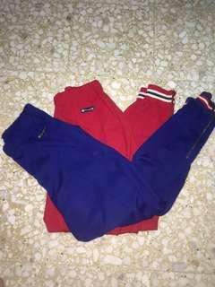 Authentic Rare Cheap Vintage Zipper Champion Sweatpants/Joggers