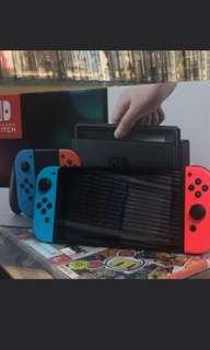 二手行貨switch 有盒齊配件