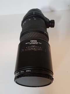 🚚 SIGMA鏡頭 70-210MM 1:2.8 原價26000