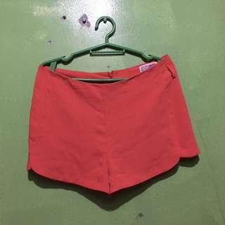 Orange hw shorts