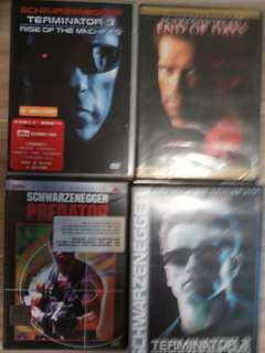 DVD~未來戰士2 & 3,鐵血戰士,魔鬼未日 (只限九龍灣地鐵站交收或順豐到付)