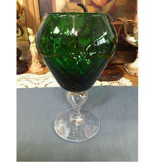 意大利手工老玻璃杯