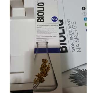 SKINBOOK BIOLIQ 55+ LIFTING AND NOURISHING NIGHT CREAM 提拉養潤晚霜 50ML