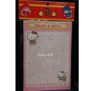 [包郵,全新] Hello Kitty 信封信紙組