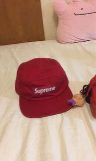 🚚 Supreme 5分割 Box Logo帽 紅