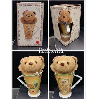 [全新] BEAR MUC 小熊 熊仔鎖匙扣 熊仔杯