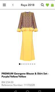 Poplook Mother Daughter Matching Baju Kurung