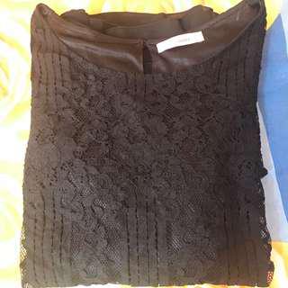Top blouse peplum jumbo bigsize